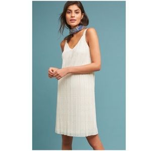 Anthropologie NWT Prespa Pleated Dress 10 New